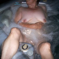 Sunny In The Hot Tub