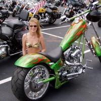 Harley Show Flashing