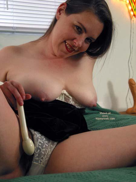 Pic #8 - Vicki Getting Ready To Masturbate