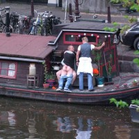 Public Sex , Sitting Getting Fucked, Fucking In Amsterdam, Canal Sex, Rocking The Boat, Street Voyeur, Watching Couple Fuck On Boat, Public Fuck, Boat Sex, Standing Fucking Sitting Lady