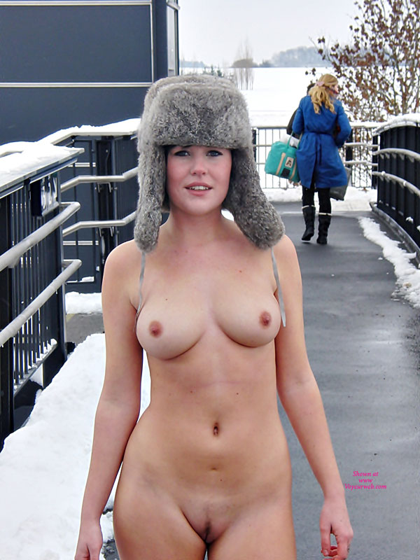 Mad Bomber Hat On Young Nude Girl - Brunette Hair, Exhibitionist, Flashing, Landing Strip, Nude In Public, Bald Pussy, Naked Girl, Nude Amateur , Nude Friend, Russian Border Crossing Nude, Ice Station Zebra, Only Wearing A Hat, Nude In The Snow, Brunette Landing Strip