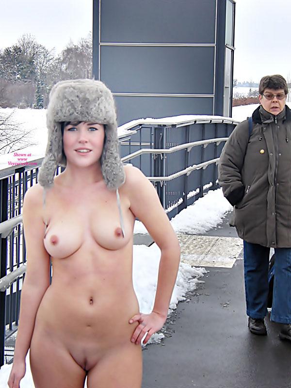 Nude In Public From Denmark - May, 2011 - Voyeur Web-8484