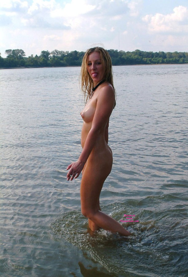 Pic #1 - Nude At The Lake - Blonde Hair, Firm Tits, Long Hair, Natural Tits, Nude Beach, Nude Outdoors, Perfect Tits, Perky Tits, Tan Lines, Nude Amateur , Tiny Wet Tight Butt, Tongue Out, Firm Ass, Nude Me, Nice Looking Knockers