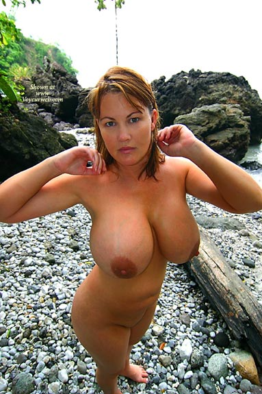 Pic #1 - Water Balloons - Wet , Water Balloons, Floatation Devices, Big Tits Wet, Huge Breasts, Nude Outdoors, Large Aerolas