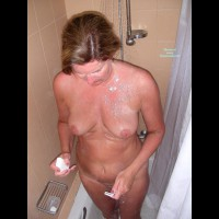 Showering Wife