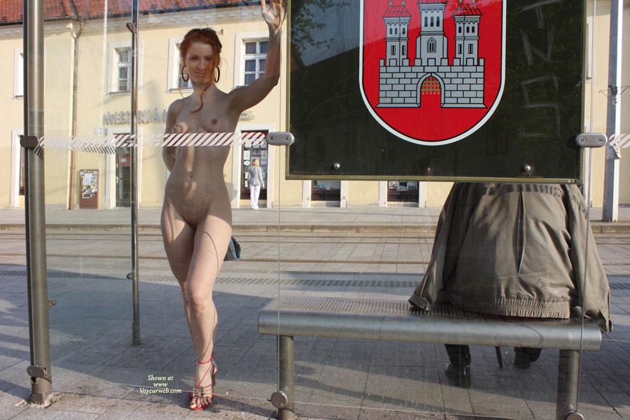 … Vienna in Bratislava, hehe. Waiting for the Bus.
