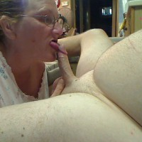 *JO Sucking The Hubby