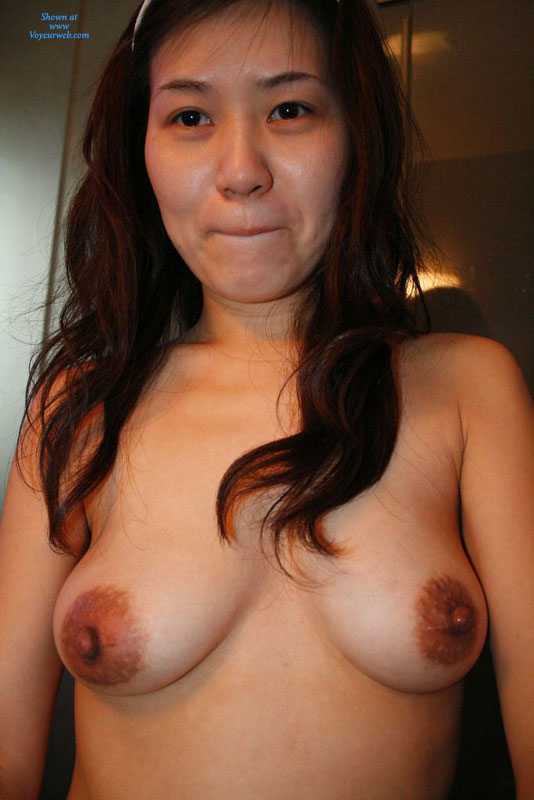 Naked big tit asian