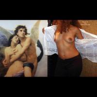 Faceless Nude - Artistic Nude, Shirt, Nude Amateur