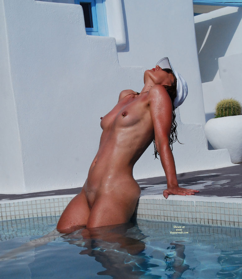 pool Amateur nude the women at