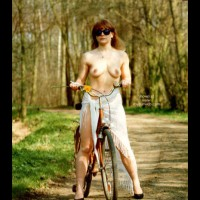 Bike Ride On A Spring Day