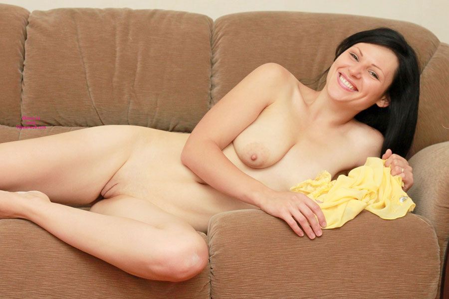 Nude Girl On Sofa Hairless Pussy - Shaved Pussy, Bald Pussy, Hairless Pussy, Naked Girl, Nude Wife , Big Smile, Pretty Face, Full Lips, One Tit, Big Smile, Smiling, Nice Tits, Hot Looking Twat, Reclining Nude, Natural Breasts, Gorgeous Smiles All Over