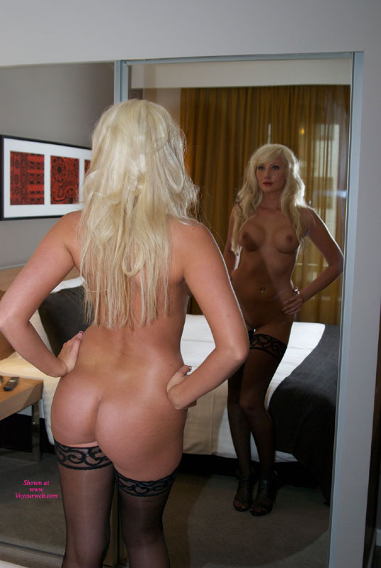 Pic #1 - Annie Mirror , In The Hotel Room...