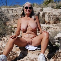 Sexy Sweet Alice In The Hot, Hot Desert
