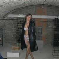 Veronique In The Cellar With Stranger..