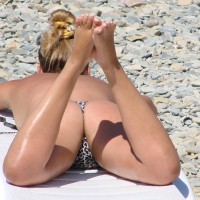 Beach Voyeur - Blonde Hair, Beach Voyeur, Sexy Ass