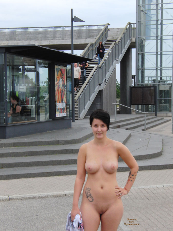 Such the web voyeur nude in public