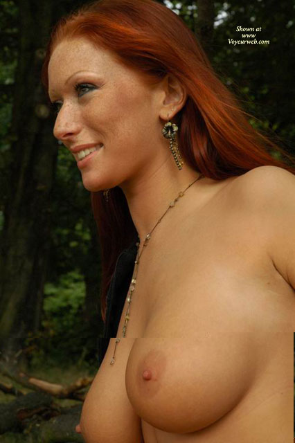 Pic #1 - Freckles - Big Tits, Freckles, Red Hair, Freckles, Nude On Nature, Natural Look, Red Hair, Big Tits