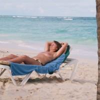 Irina At Beach