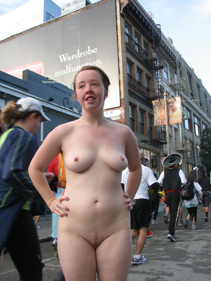 Very Bay breakers nude