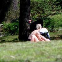 Sex In A German Park -frankfurt Lunch Time
