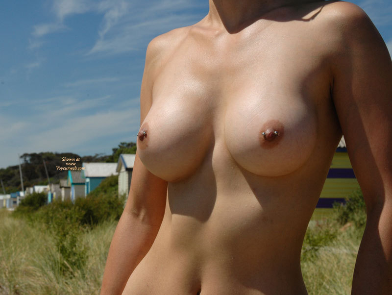 Topless Beach Perfect Tits