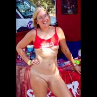 Sexy Suz Walks Around Naked @ Nap 2011
