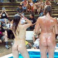 Naked Oil Wrestlers @ Nap 2011