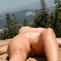 Naked Girl Lying On Rock - Bald Pussy, Hairless Pussy, Sexy Legs , Mountains, Hills & Valleys, Tan On The Rocks, Amateur Photos, Nice View, Naked On A Rock, Crotch Shot, Nude Outdoors, Open Legs, Sexy Smooth Snatch, Hairless Pussy Lips, Gorgeous Smooth Cunt Lips