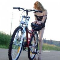 Prinses_g With Her Bike #002/5