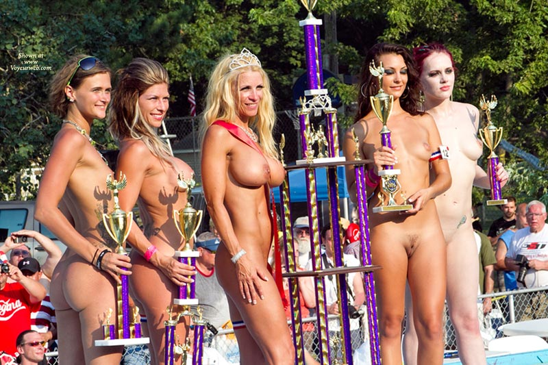 Pic #1 - Line Of Winners At Nudes A Poppin 2011 , Here Is A Line Of Winners On Stage At Nudes A Poppin July 2011. Had To Use A Zoom On The Canon 7D.