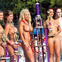 Line Of Winners At Nudes A Poppin 2011