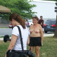 National Go Topless Day In Dc