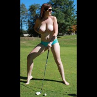 Scarlet Loves To Play Golf