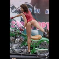 Various Motor Show Upskirt 2