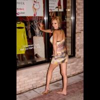 Brandy Strips Nude In Suburban Detroit