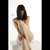 Nude Woman Hiding - Long Hair, Nude Amateur