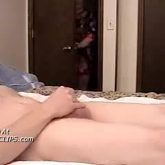 Molly Catches Him Jacking