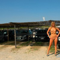 Milangirl At Saint Tropez Beach Parking