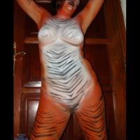 Tiger Woman 2 (Body Paint)
