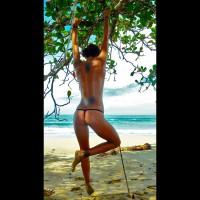 My Girlfriend Nude On The Beach # 2