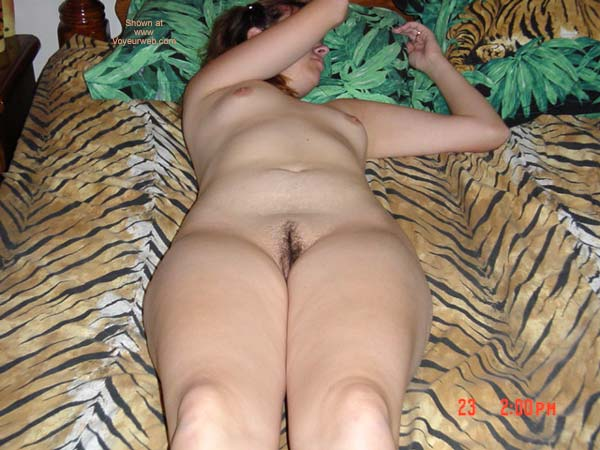 Pic #1 - Wife In Tiger Bed