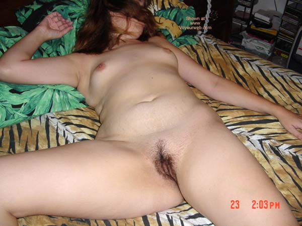 Pic #5 - Wife In Tiger Bed