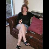 Sassy Spouse Denim Mini Skirt