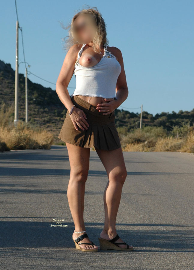Pic #1 - Fantasstic Skirt , Blond Angel On Heat & Promenade...