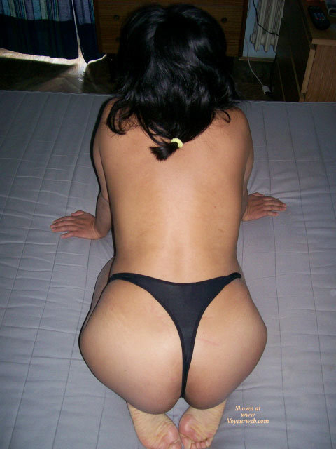 Pic #1 - My Latina Goddess , She Is My Goddess, And Her Ass Is My Temple.