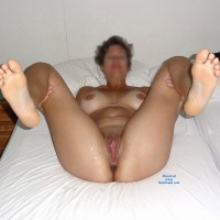 She Spreads Her Legs