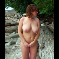 Lisajane At Wreck Beach, Vancouver