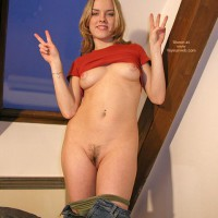 Twenty Three - Blonde Hair, Full Nude, Puffy Nipples