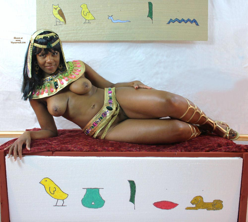 Cleopatra having sex naked apologise, but